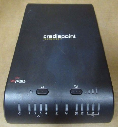Cradlepoint 1200 Mobile Mission Critical Broadband Router 10/100/1000